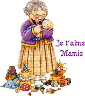 Watch and share Images Gif Animé Grand Mère animated stickers on Gfycat