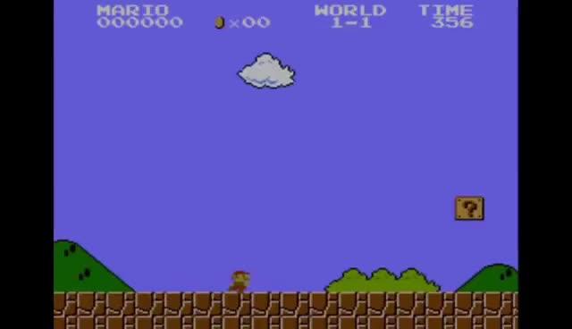 Watch and share Design Club - Super Mario Bros: Level 1-1 - How Super Mario Mastered Level Design GIFs on Gfycat