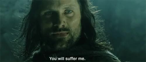 Watch this lord of the rings GIF on Gfycat. Discover more lord of the rings, lotr, viggo mortensen GIFs on Gfycat