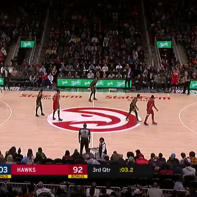 Watch and share Atlanta Hawks GIFs and Basketball GIFs on Gfycat
