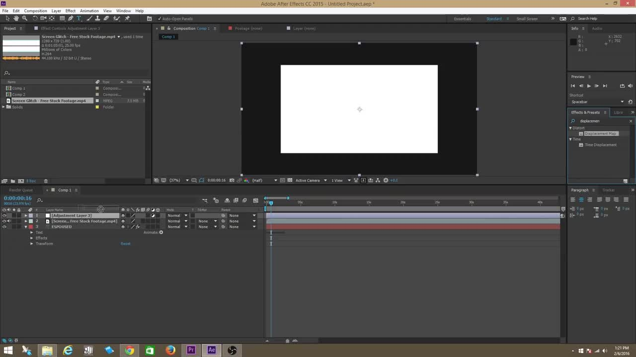 Siiiick Text Glitch Effect In After Effects