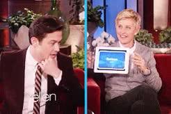 Watch this trending GIF on Gfycat. Discover more *, Gif, Heads Up, JGL, Joseph Gordon Levitt, Joseph Gordon-Levitt, Talk Show, The Ellen Degeneres Show GIFs on Gfycat