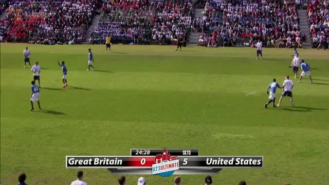 Watch WU23 2015 | USA vs Great Britain (Open) GIF on Gfycat. Discover more skyd magazine, ultimate (sport) GIFs on Gfycat