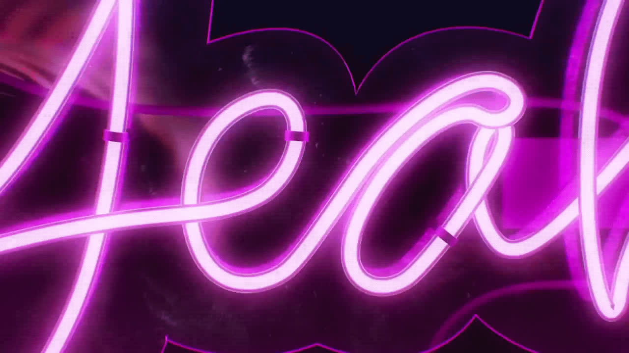 animation, neon, yeah, yes, Yeah Neon Sign Animation GIFs