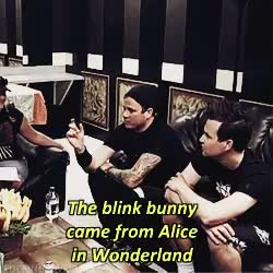 Watch Blink-182 GIF on Gfycat. Discover more blink 182, blink-182, mark hoppus, tom delonge, travis barker GIFs on Gfycat
