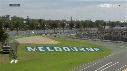 formula1gifs, Ericssons spin out of Turn 12 in P3 - Australia 2015. (reddit) GIFs