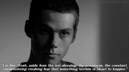 Watch and share Depressing Thoughts GIFs and Dylan O'brien Edit GIFs on Gfycat