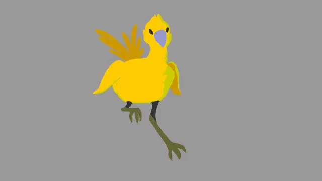 Watch and share Run Chocobo!! Run For Your Life!! GIFs on Gfycat