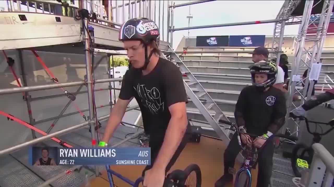 BMX rider Ryan Williams doing the world's first 1080 front flip GIFs