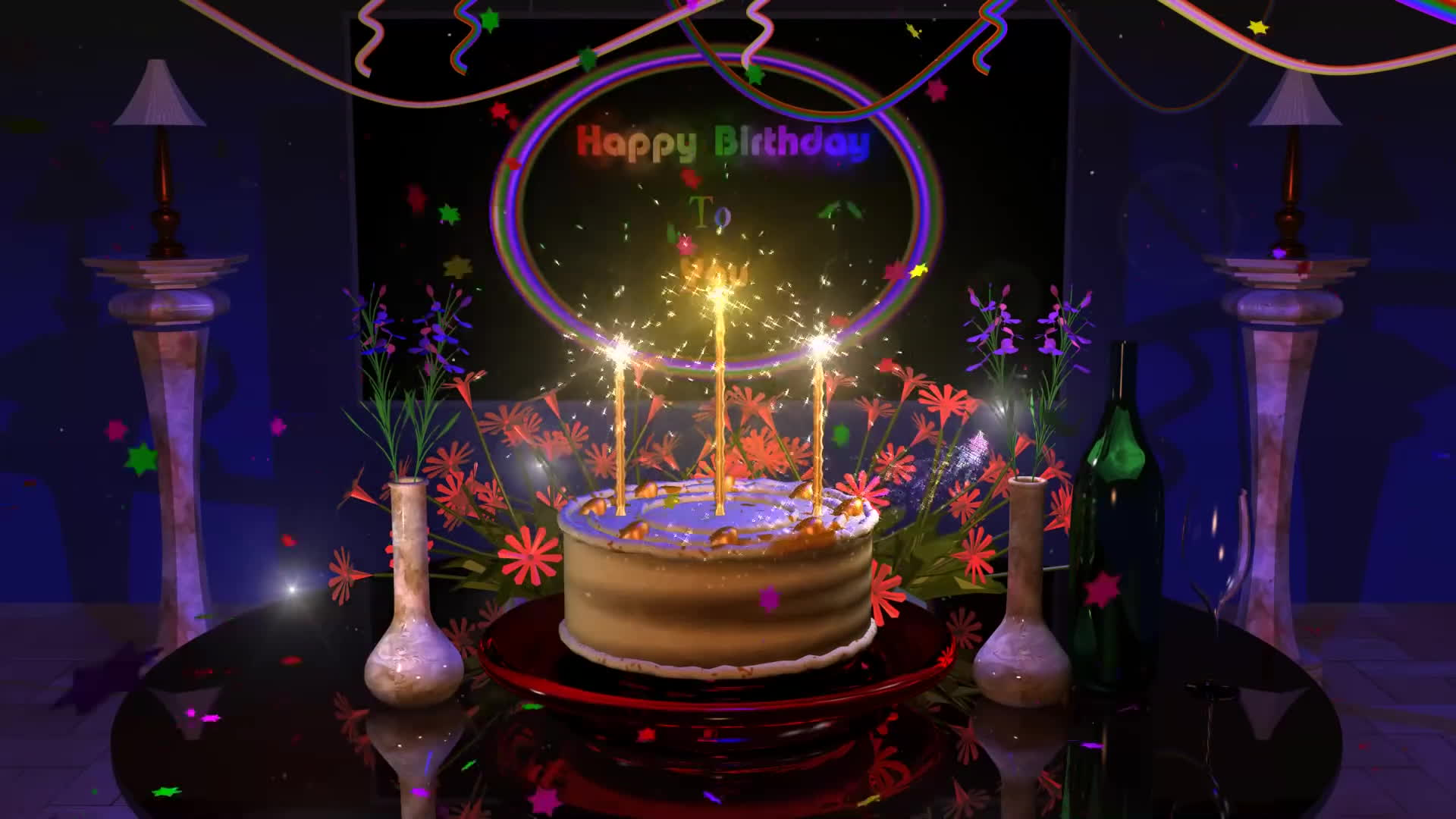 Magical Happy Birthday Animation Gif By Deebrhm At Deebrhm Find