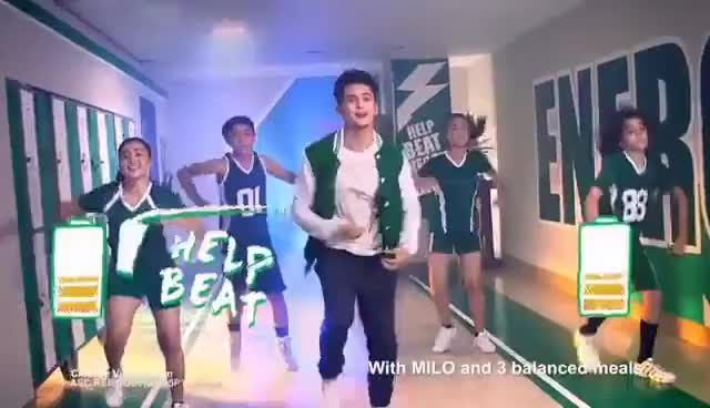 Watch and share James Reid Shows How To #BeatEnergyGap With MILO Champ Moves | Nestlé PH GIFs on Gfycat