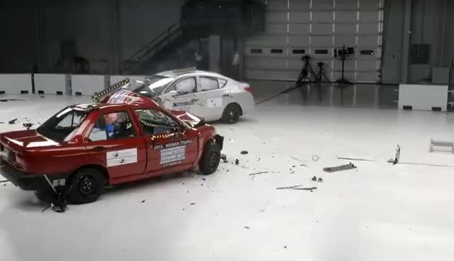 Watch and share 2015 Nissan Tsuru Vs. 2016 Nissan Versa GIFs on Gfycat