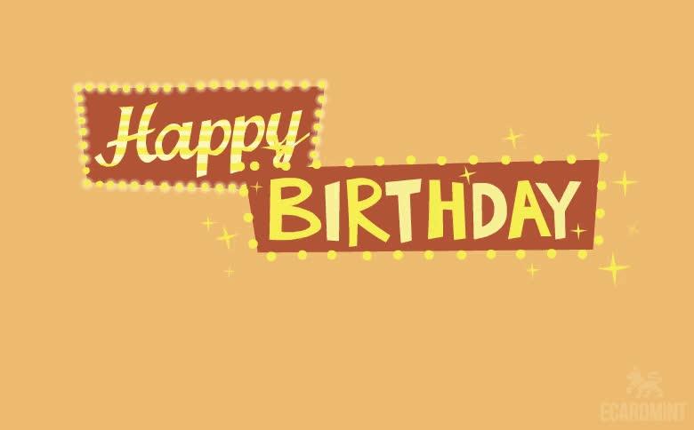 Birthday, Funny, HBD, Happy Birthday, Looped, Happy Birthday Lights GIFs