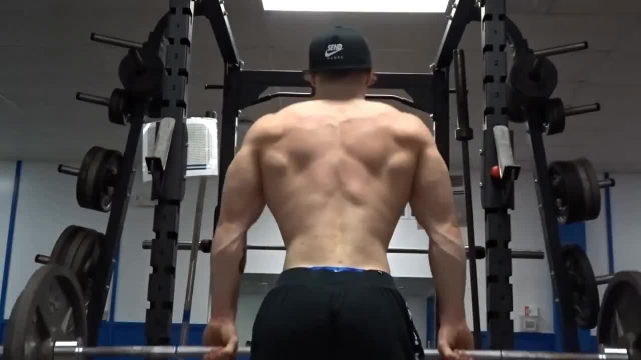 bodybuilding, My BODY is CHANGING || Teen GYM Sesh PUMP w' The KREW || Insane ARM & BACK GIFs