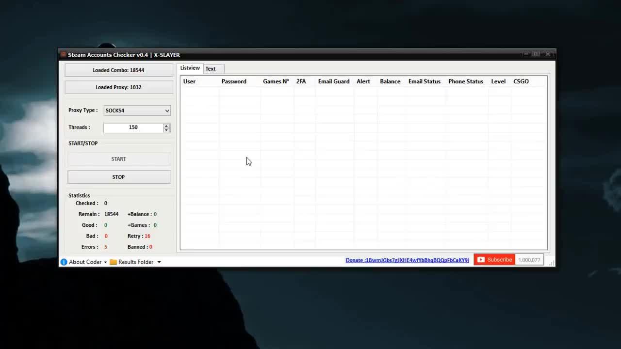 Steam Accounts Checker V 0 4 X SLAYER