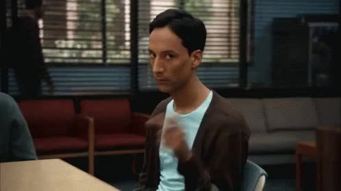 Watch comedy GIF on Gfycat. Discover more danny pudi GIFs on Gfycat