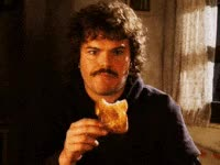 Watch and share Waiting, Nacho Libre, Eating GIFs on Gfycat