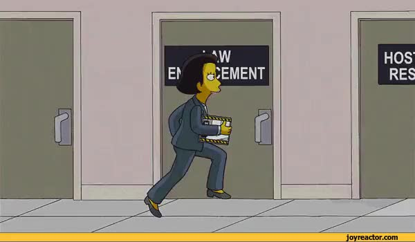 Watch and share Simpsons FBI Piracy Division GIFs on Gfycat