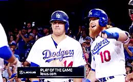 Watch and share Los Angeles Dodgers GIFs and Adrian Gonzales GIFs on Gfycat