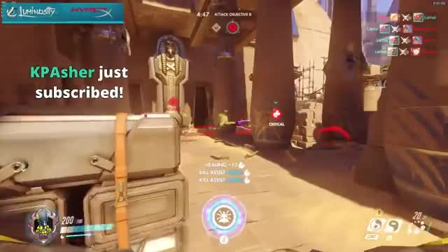 A_Seagull As Ana - New hero available on PTR