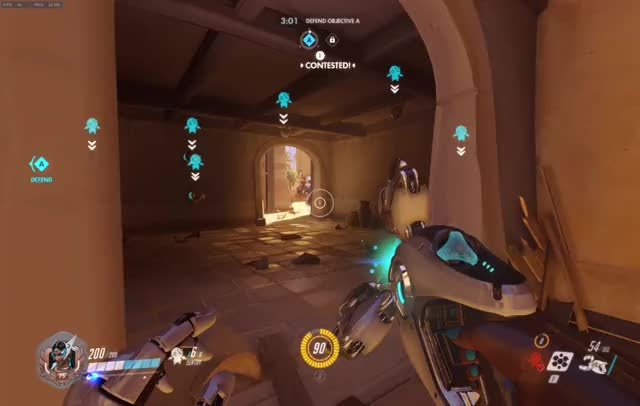 Overwatch symmetra play of the game video