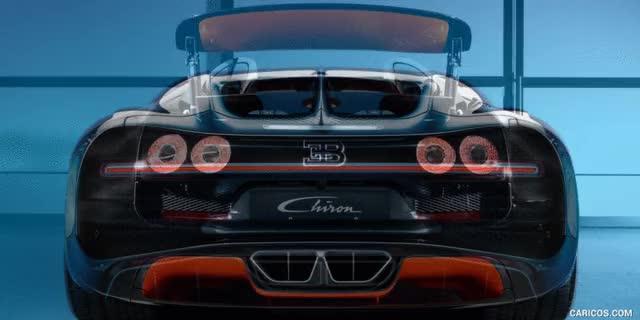 Watch and share Bugatti Chiron Vs. Veyron GS Vitesse : Rear [GIF Animation] GIFs on Gfycat
