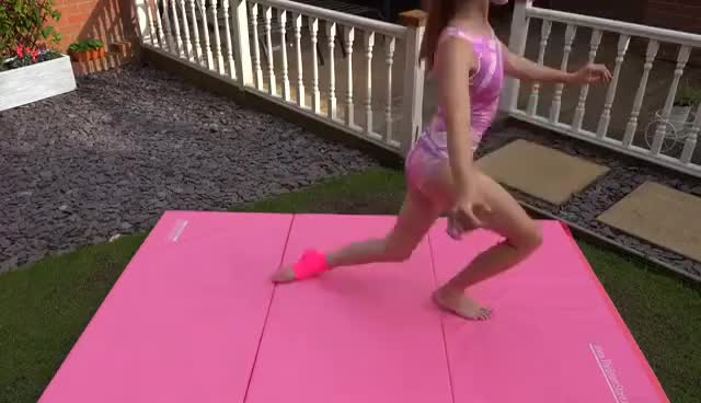 Watch The Broken Gymnast! GIF on Gfycat. Discover more related GIFs on Gfycat