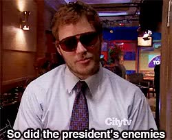 Watch and share Burt Macklin, FBI. GIFs on Gfycat