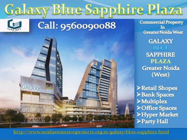Watch and share Galaxy Blue Sapphire Plaza- Commercial Multiplex In Noida Extension GIFs by fmpakash on Gfycat