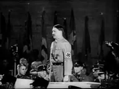 Watch and share Hitler GIFs and Speech GIFs on Gfycat