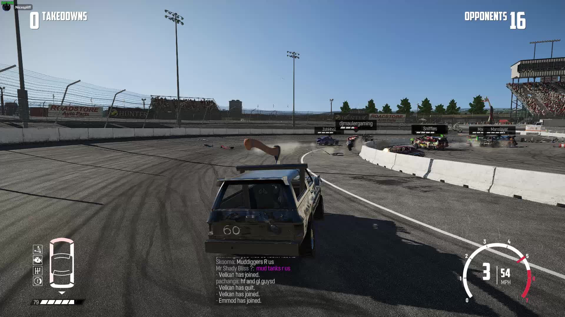 nextcargamewreckfest, This is one way to knock someone out in a derby GIFs
