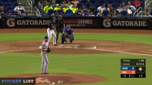 Watch 6th Dietrich Splitter SL FB GIF on Gfycat. Discover more Miami Marlins, New York Mets, baseball GIFs on Gfycat