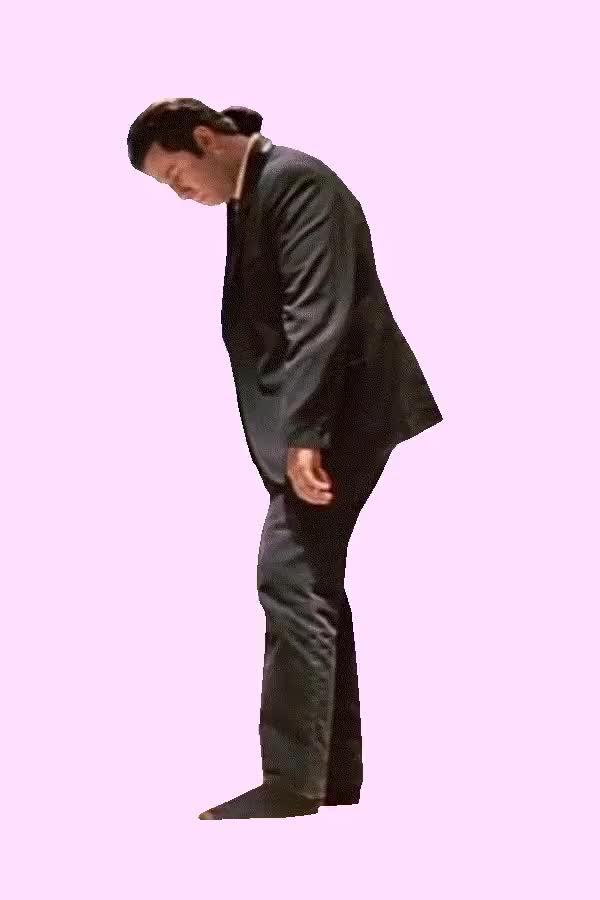 Watch and share GIF BattlePsBattle: [GIF] Cutout Of John Travolta Dancing In Pulp Fiction (i..com) GIFs on Gfycat