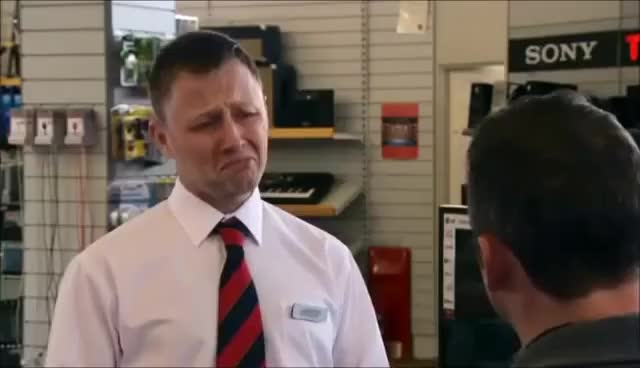 Limmy's Show - Annoying Shop Assistant