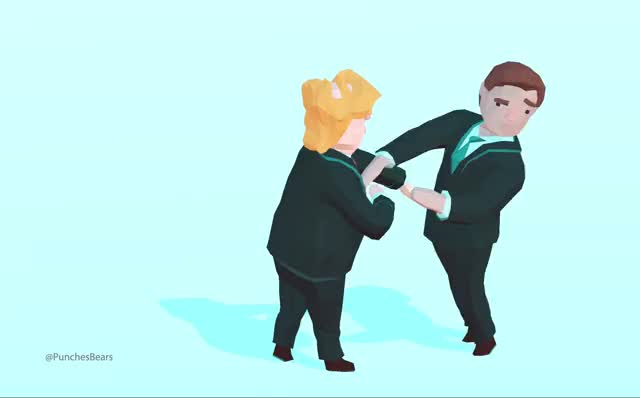 Watch and share Trump Handshake Game Prototype GIFs by punchesbears on Gfycat