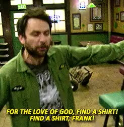 Watch and share Frank Reynolds GIFs and Charlie Kelly GIFs on Gfycat