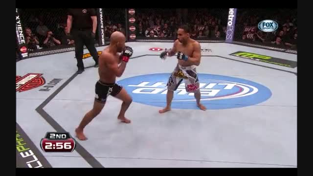 Watch gif of the day, dodson's counter left hook to drop the current flyweight champion demetrious johnson (reddit) GIF on Gfycat. Discover more MMA, mma GIFs on Gfycat
