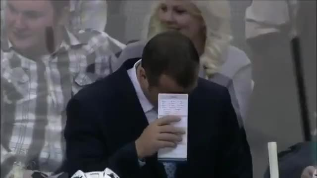 Watch and share Alain Vigneault Cracking Up GIFs by charlieglide on Gfycat