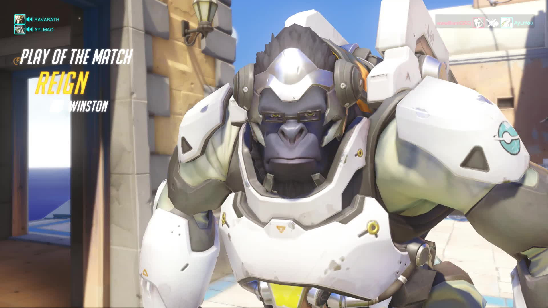 harambe, overwatch, reign, winston, when the harambe memes get to you GIFs