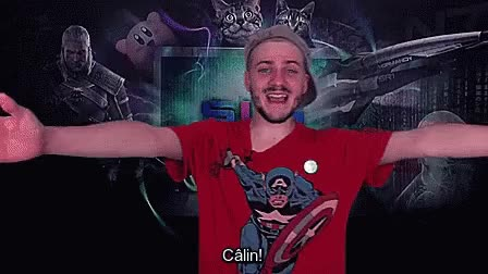 Watch and share Câlin! GIFs on Gfycat