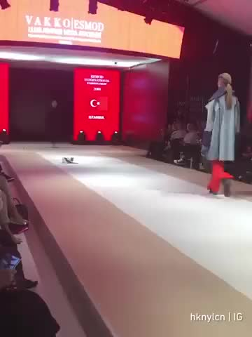 Watch Catwalk on the catwalk GIF on Gfycat. Discover more related GIFs on Gfycat