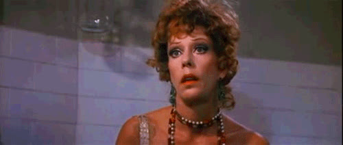 1982, annie, carol burnett, dead, drunk, faint, fall out, miss hannigan, pass out, passed out, passing out, shook, Miss Hannigan - Annie 1982 GIFs