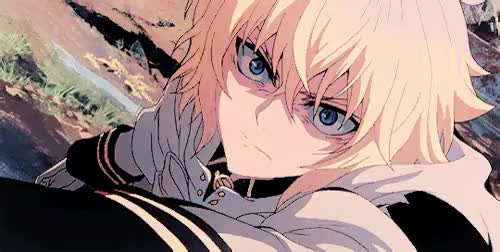 Watch and share Searph Of The End GIFs and Mikaela Hyakuya GIFs on Gfycat