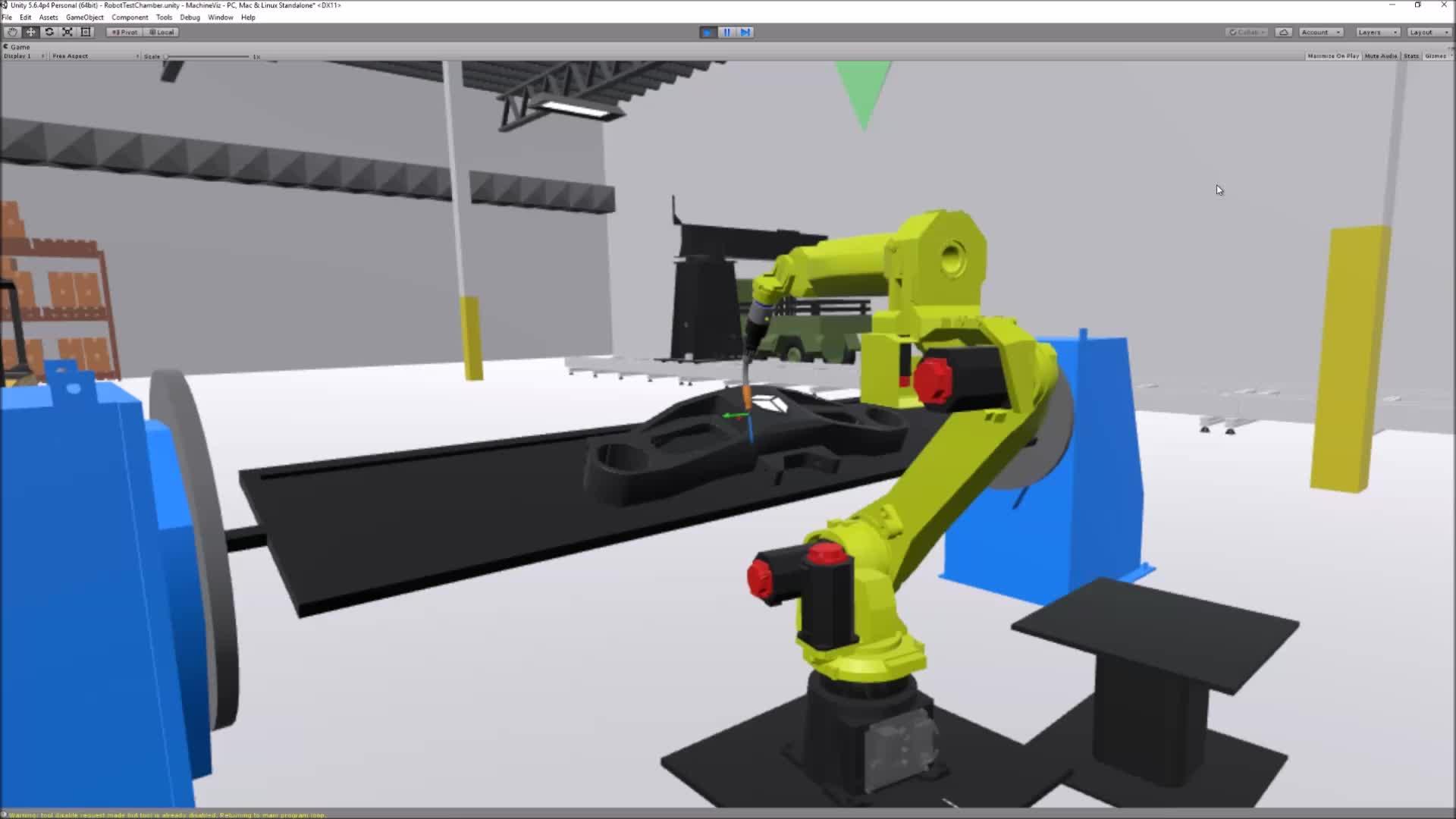 automation, robotics, unity, virtual reality, vive, VRRS Dual Arm GIFs
