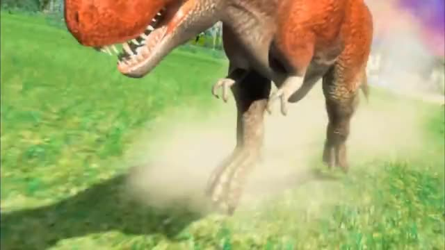 Watch this dinosaur GIF on Gfycat. Discover more animal, carnivore, cartoon, charge, clash, dinosaurking, dinosaurs, dinosaursinthemedia, fightscene, herbivore, prehistoriclife, saurischia, saurischian, seldomseenspecies, stockdinosaur, terry, tyrannosaur, tyrannosaurid, tyrannosaurus, tyrannosaurusrex GIFs on Gfycat