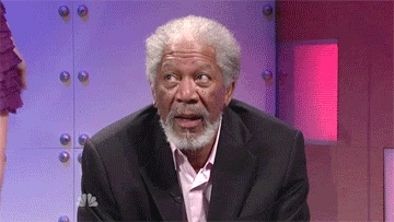 Morgan Freeman, bored, notamused, uninterested, not amused GIFs