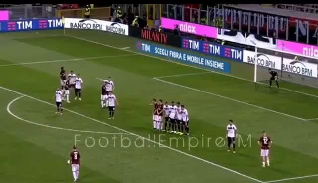 Watch and share Milan Vs Cagliari 2-1 GOL SUSO SU PUNIZIONE GIFs on Gfycat