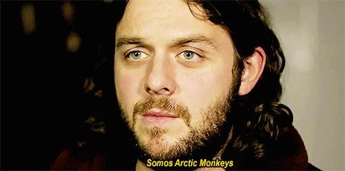 Watch and share Gif Jesus Christ Arctic Monkeys Nick O'Malley O'malley My Hero GIFs on Gfycat