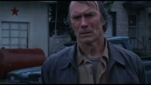 clint eastwood, rain, raining, rainy, storm, weather, wet, rain GIFs