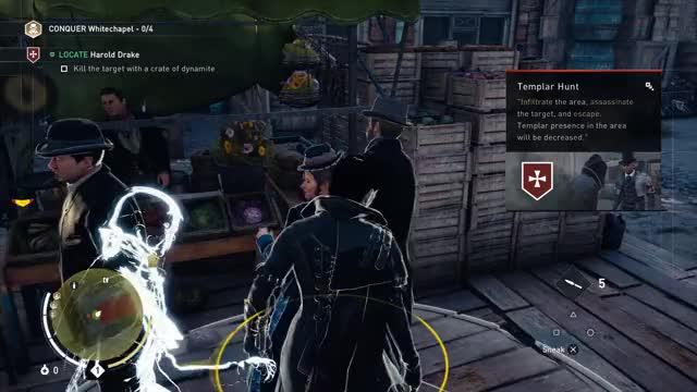Assassin's Creed Except Batman